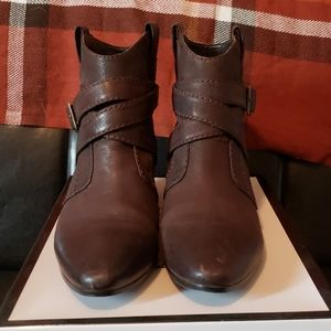 Nine West Brown booties